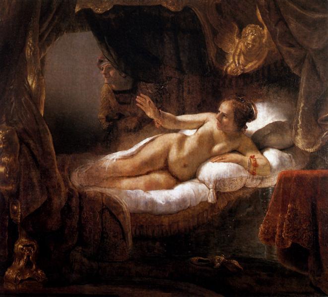 Rembrandt. Danae. 1643.
