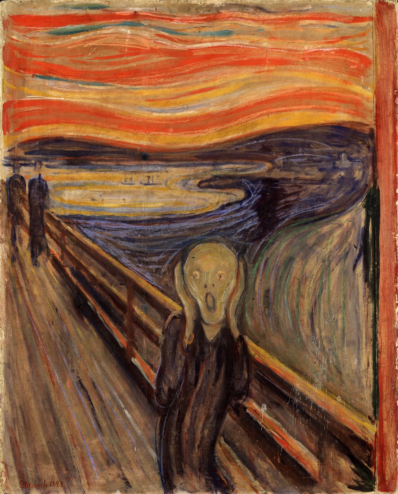 Edvard Munch. The scream. 1893.