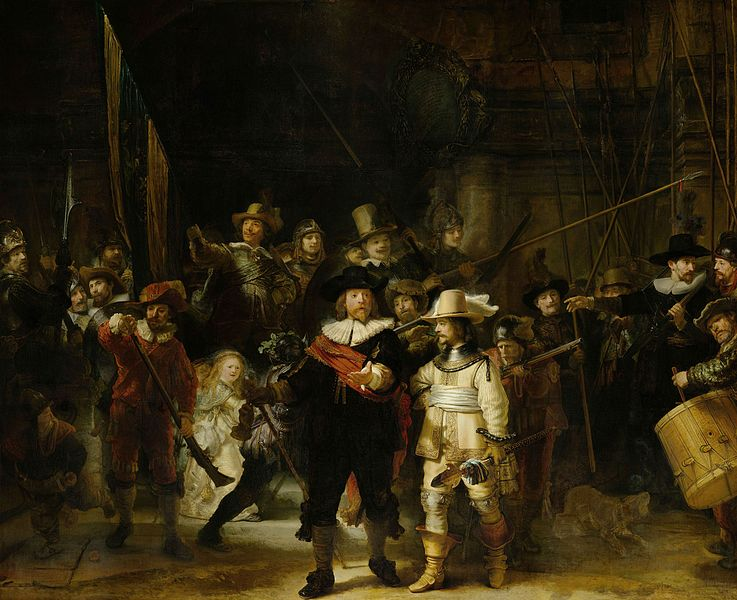 Rembrandt. The Nightwatch. 1642.
