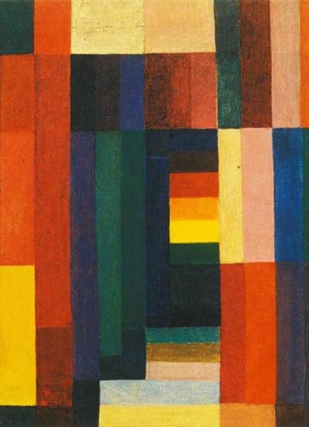 Johannes Itten. Horizontal Vertical. 1915