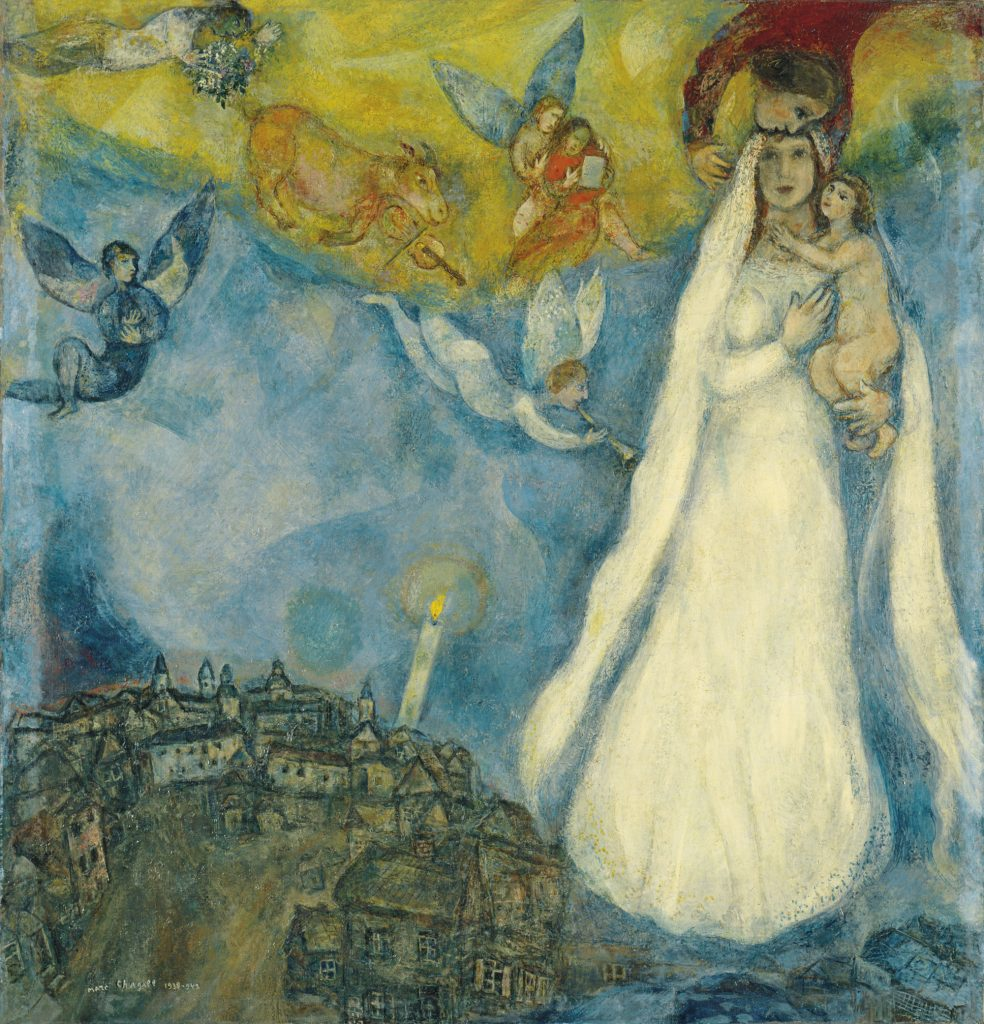 Mark Chagall. The madonna of the village. 1938-1942.