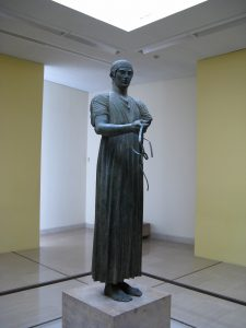 The Charioteer of Delphi. 478-474 BC.