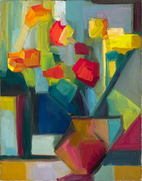 "Flowers ""after Piet Mondrian"""