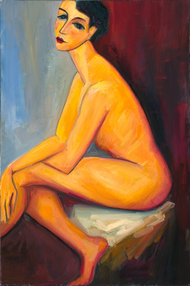 Sarah (after Amadeo Modigliani)