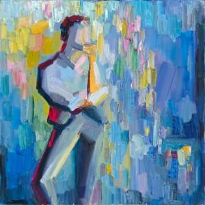 Lena Levin. Sonnet 8: colour sketch