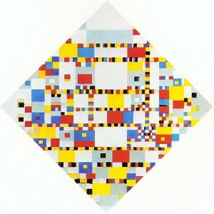 Piet Mondrian. Victory Boogie-Woogie. 1943/44 (unfinished).