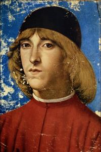 Domenico Ghirlandaio. Piero di Lorenzo de Medici.