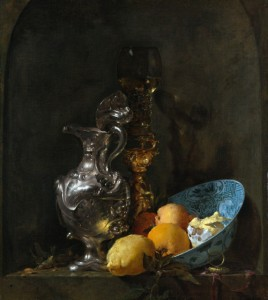 Willem Kalf. Still life with Silver Jug.