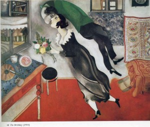 Marc Chagall. The Birthday. 1915