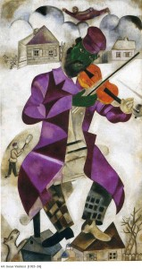 Marc Chagall. The Green Violinist. 1924