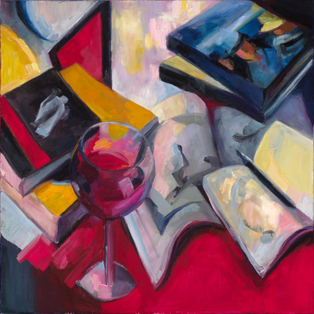 Lena Levin. Sonnet 32 painting